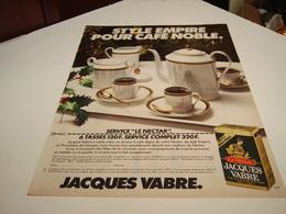 ANCIENNE AFFICHE PUBLICITE CAFE JACQUE VABRE LE NECTAR 1980 - Posters