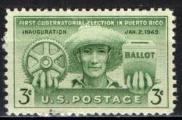 STATI UNITI - 1949 - PRIMA ELEZIONE DEL GOVERNATORE DI PORTORICO - MNH - United States