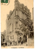 CPA (Réf:J696) 4.  BERGERAC (DORDOGNE 24) Le Château (Très Animée) - Bergerac