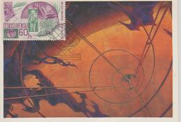 Tchécoslovaquie Carte Maximum 1552 Espace - Cartas