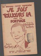 Partition Petit Format JE SUIS TOUJOURS LA  (illustrateur : De Valerio ) 1922 (PPP8474) - Partitions Musicales Anciennes