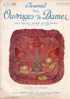 Journal Des Ouvrages De Dames - No 407 - 1922 - Broderie - Dentelle - Crochet - Tricot - Paris - Mode - Bruxelles - Books, Magazines, Comics