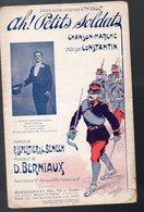 Partition Petit Format AH PETITS SOLDATS  (illustrateur : Clérice Fr  ) Vers 1903 (PPP8473) - Partitions Musicales Anciennes