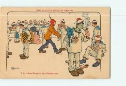 Illustrateur GERVESE - Nos MARINS (série De Guerre) - Les Envois Des Marraines - 2 Scans - Humour
