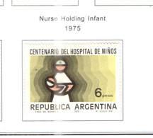 Argentina PO 1975 Nurse Scott.1083+ See Scan On Scott.Page - Argentina