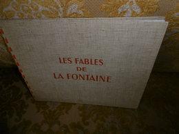 """ALBUM """"CHEQUE TINTIN"""" , 1946 , Les FABLES De LA FONTAINE , Dessins Animés De G.LEBRET - Livres, BD, Revues"""