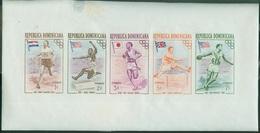 Amériques - République Dominicaine  - Poste 1957 Bloc  Yt 444 445 446 447 448 Neufs - Dominican Republic