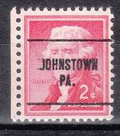 USA Precancel Vorausentwertung Preo, Locals Pennsylvania, Johnstown 272 - Vereinigte Staaten