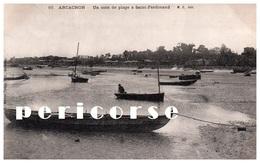 33  Arcachon  Un Coin De Plage à Saint Ferdinand - Arcachon