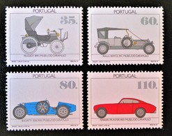 MUSEE AUTOMOBILE CARAMULO 1991 - NEUFS ** - YT 1866/69 - MI 1888/91 - 1910 - ... Repubblica