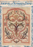 Journal Des Ouvrages De Dames - No 414 - 1922 - Broderie - Dentelle - Crochet - Tricot - Paris - Mode - Bruxelles - Books, Magazines, Comics