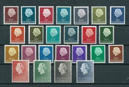 1953/67 Netherlands Complete Set Queen Juliana MNH/Postfris/Neuf Sans Charniere - Ongebruikt