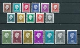 1971/76 Netherlands Complete Set Queen Juliana MNH/Postfris/Neuf Sans Charniere - Periode 1949-1980 (Juliana)
