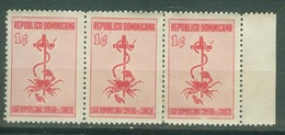 Amériques - République Dominicaine  - Bienfaisance Scott RA15  Lutte Contre Le Cancer 1953 Neuf ** - Dominican Republic