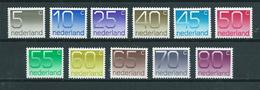 1976 Netherlands Complete Set Crouwel MNH/Postfris/Neuf Sans Charniere - Unused Stamps