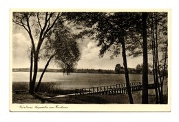 Ak Güstrow - Seepartie Am Kurhaus, Feldpost 1942 Briefstempel 2. Battr, Schw. Ers. A. R. 48 - Guestrow