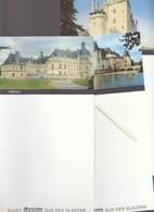 Menu - Lot De 3 - Cointreau - Chateaux : Serrant, Plessis-Bourré, Montsorreau - Menus