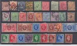 Grande Bretagne - 1880 à 1937 - Obl. - Lot Divers - - Otros