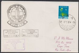 Sanae Base 1974 Cover Ca 17 I 74 (38475) - Postzegels