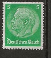 Hindenburg -Fil 4 - Unused Stamps
