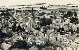 EN AVION  AU-DESSUS De  FONTENAY-EN-PARISIS (S.-et-O.) -- VUE  GENERALE          Carte Glacée 9X14 - Autres Communes
