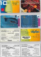 LOT PREPAID 4 PHONE CARD- TUNISIA (E22.21.1 - Tunisia