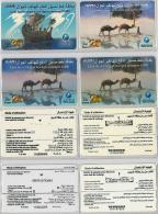 LOT PREPAID 4 PHONE CARD- TUNISIA (E22.21.5 - Tunisia