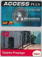 LOT PREPAID 2 PHONE CARD- EL SALVADOR (E23.2.1 - El Salvador