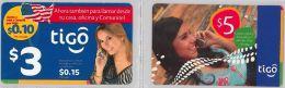 LOT PREPAID 2 PHONE CARD- EL SALVADOR (E23.2.5 - El Salvador