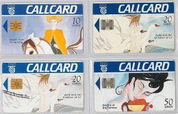 LOT 4 PHONE CARD- IRLANDA (E23.7.5 - Irlanda