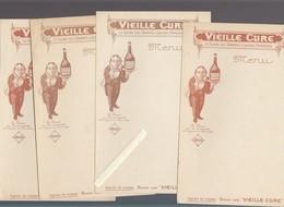 Menu - Lot De 5 - Liqueur Vieille Cure - Menus