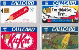 LOT 4 PHONE CARD- IRLANDA (E23.11.5 - Irlanda