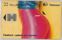 PHONE CARD- NORVEGIA (E23.16.3 - Norwegen