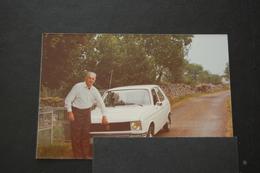 PEUGEOT Automobile - Véhicule Ancien Photo Originale Peugeot 104 - Cars