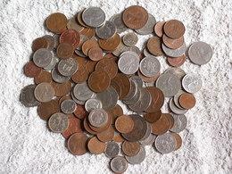 JOLI  LOT  MONNAIES  ANGLETERRE  - 700 GRAMMES  - Tous états  - Tous Métaux Dont Anciennes - Monete & Banconote