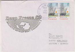 USA 1989 Deep Freeze '89 Ca Nov 18 1988 Cover (38480) - Poolfilatelie