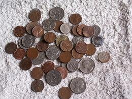 JOLI  LOT  MONNAIES  ETATS UNIS  - 200 GRAMMES  - Tous états  - Tous Métaux Dont Anciennes - Lots & Kiloware - Coins