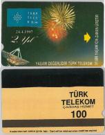 PHONE CARD- TURCHIA (E24.17.7 - Turkey