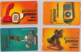 LOT 4 PHONE CARD- TURCHIA (E24.18.1 - Turkey