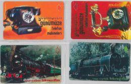 LOT 4 PHONE CARD- TURCHIA (E24.18.5 - Turkey