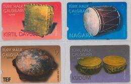 LOT 4 PHONE CARD- TURCHIA (E24.19.1 - Turkey