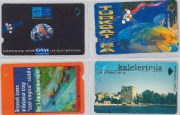 LOT 4 PHONE CARD- TURCHIA (E24.20.5 - Turkey