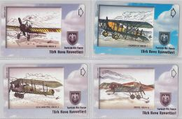LOT 4 PHONE CARD- TURCHIA (E24.22.5 - Turkey