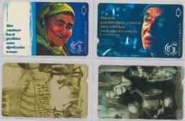 LOT 4 PHONE CARD- TURCHIA (E24.25.1 - Turkey