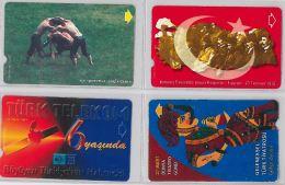 LOT 4 PHONE CARD- TURCHIA (E24.25.5 - Turkey