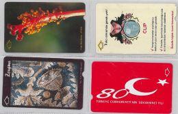 LOT 4 PHONE CARD- TURCHIA (E24.26.1 - Turkey