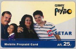 PHONE CARD- ARUBA (E25.3.3 - Aruba