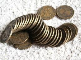 31  MONNAIES 2 Francs -  CHAMBRE DE COMMERCE  - 250 GRAMMES  - Années Variées - Coins & Banknotes