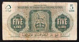 Tripolitania 1943 5 Lire Mb  LOTTO 1773 - Unclassified