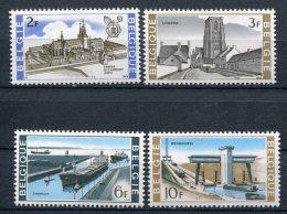 Yv. COB N°  1466 à 1469 ** MNH  Intérêt National   Cote  1,95 Euro TBE - Unused Stamps